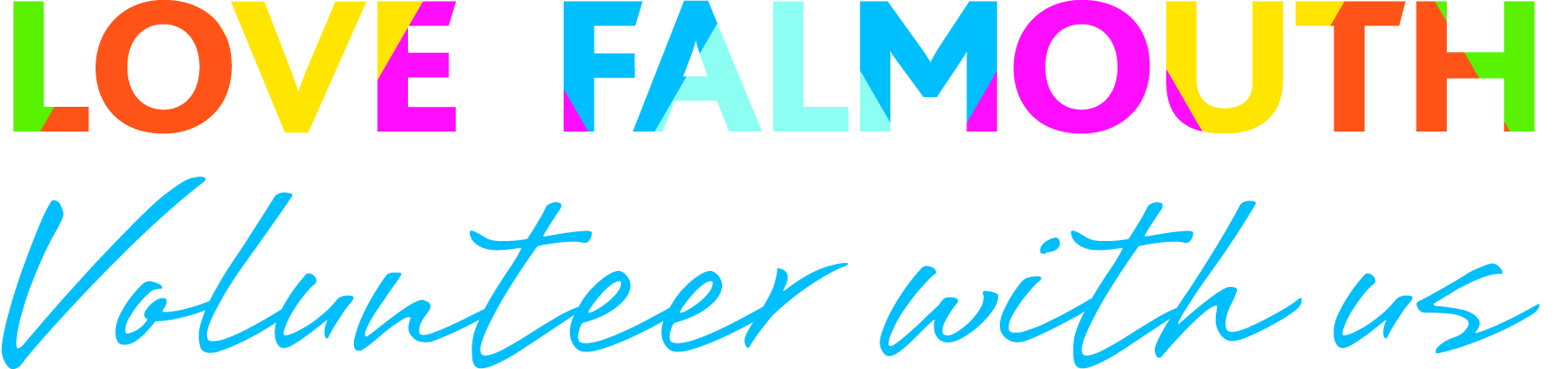 Love Falmouth: Volunteer Makers Logo